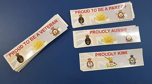 Veteran and other group or club Stickers