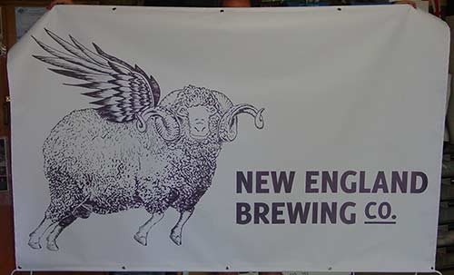 New England Brewing Company Banners